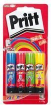 Lijmstift 10 gram Pritt Rainbow Schoolpack
