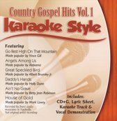 Karaoke Style: Country Gospel Hits, Vol. 1