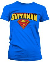 Superman T-shirt dames Xl