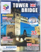 Jonotoys Puzzel 3d Tower Bridge