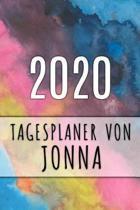 2020 Tagesplaner von Jonna: Personalisierter Kalender f�r 2020 mit deinem Vornamen