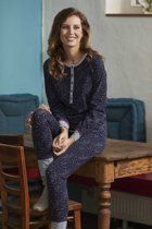 Donker blauwe Ringella pyjama sterren