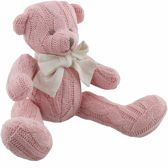 'PETIT CHERI' For Baby. Gebreid beertje, 25 cm