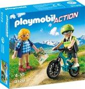 PLAYMOBIL Wandelaar en mountainbiker  - 9129