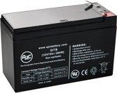 AJC® battery compatibel met Ritar RT1272 12V 7Ah Lood zuur accu