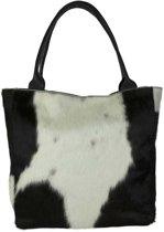 shopper koe zwart wit