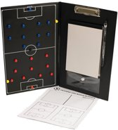 Coachmap voetbal - Agility Sports - Tactiekmap - Zwart