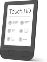 Pocketbook Touch HD 6'' Touchscreen 8GB Wi-Fi Zwart e-book reader