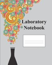 Laboratory Notebook College Rule 200 Page Composition Book