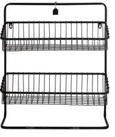 Metalen Wandrek - 50x15,5xH56 cm