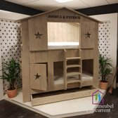 Boomhut bed Chris / Kinderbed / Steigerhout bed / Kinderbed