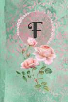 Personalized Monogrammed Letter F Journal