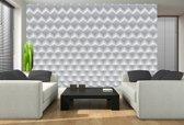 Fotobehang 3D, Design | Wit | 152,5x104cm