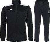 adidas Regista 18 Polyester  Trainingspak - Maat S  - Mannen - zwart/wit