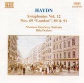 Haydn: Symphonies nos 69, 89 & 91 / Bela Drahos
