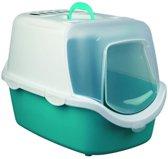 Trixie Kattenbak Vico Easy Clean Aqua / Wit - 40X40X56 CM