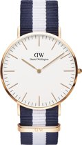 Daniel Wellington Classic Glasgow - 40 mm - Polshorloge
