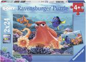 Ravensburger Disney Finding Dory Altijd zwemmen Twee puzzels van 24 stukjes