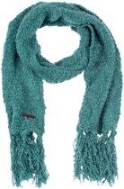 Sjaal Winter - Hippe Gebreide Acryl Sjaal - Granitepatroon Mêlee - Junior - Jongens / Meisjes - Smaragd Groen - 140 cm