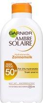 Garnier Ambre Solaire Zonnebrandcrème SPF 50+ - 200 ml - Hydraterend