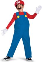 """""""Luxe Mario™ kostuum voor kinderen  - Kinderkostuums - 122/128"""""""