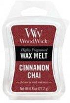 Woodwick Wax Melt Cinnamon Chai 3 stuks