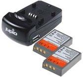Jupio Kit: 2x Battery PS-BLS5 / PS-BLS50 1210mAh + USB S.Ch.