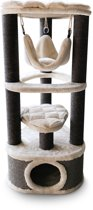 Petrebels krabpaal kings & queens catharina 120 royal cream 50cm x 50cm x 120cm