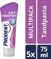 Prodent Anti-Tandsteen - 5 x 75 ml - Tandpasta - Voordeelverpakking