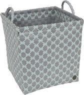 Handed By square laundry basket Brest flint grey / greyish green