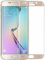Goud tempered screen protector  voor Samsung Galaxy S6 Edge gehard glas