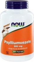 Now Psyllium Husk Capa 500mg