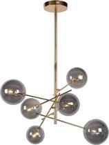 Lucide ALARA - Hanglamp - Ø 72 cm - LED - G4 - 6x1,5W 2700K - Goud