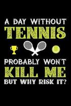 A Day Without Tennis Probably Won't Kill Me But Why Risk It?