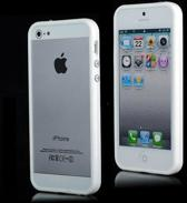 Witte TPU bumper iPhone 5 / 5s