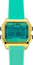 I AM THE WATCH - Horloge - 40mm - Goudkleurig/groen - IAM-KIT16