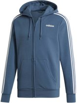 """adidas Essentials 3-Stripes vest heren blauw/wit """