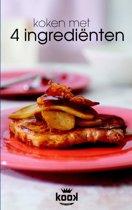 Boek cover KOOK! - Koken met 4 ingredienten van Brenda Kitchen (Paperback)