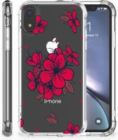iPhone XR Shockproof Case Blossom Red