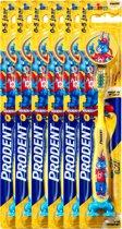 Prodent Woezel & Pip Tandenborstel 0-5jr - 6 stuks - Voordeelverpakking