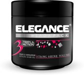 Elegance Triple Action Gel 500ml (Extra Strong Hold- Roze)
