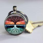 Levensboom sleutelhanger boom des levens keychain