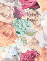 Floral Romantic Composition Notebook