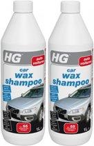 HG Car Wax Shampoo - 1000 ml - 2 Stuks !