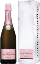 Champagne Louis Roederer Rosé in giftbox