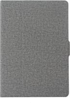 Voor iPad Air / iPad Air 2 / iPad Pro 9.7 / iPad 9 7 (2018) & iPad 9 7 (2017) doek textuur horizontale Flip leren Case met houder & slaap / Wake-up Function(Grey)