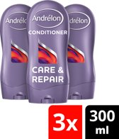 Andrélon Care & Repair - 300 ml - Conditioner - 3 stuks - Voordeelverpakking