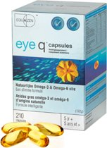 Springfield Eye Q Omega 3/6 500mg - 210 Capsules - Visolie - Voedingssupplement