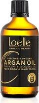 Loelle Argan olie 100 ml ECO Arganolie voor huid en haar