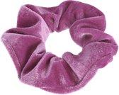 Lucardi Diversen  - Velvet scrunchie violet